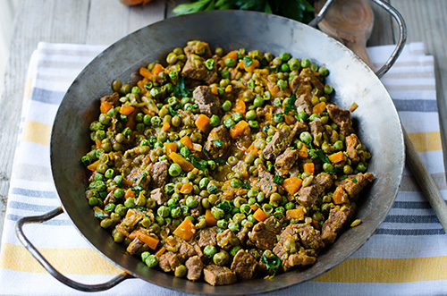 Beef with Peas