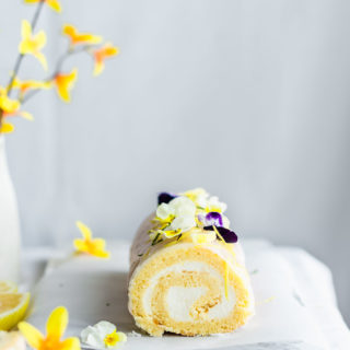 lemon roll cake