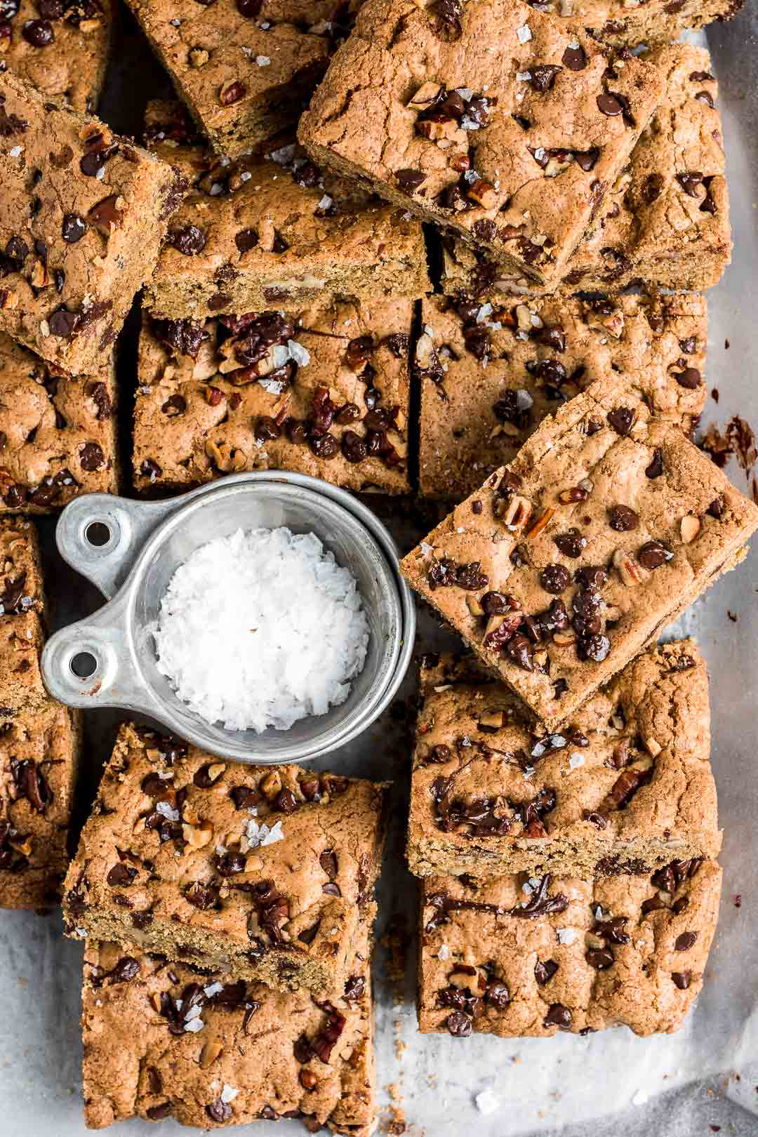 Brown Butter and Rye Cookie Bars
